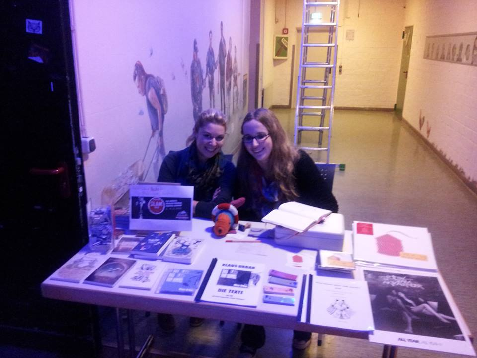Alessandra und Jenny beim Generationenslam