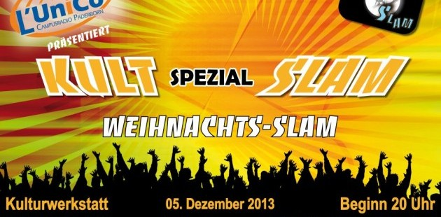 KultSlam 05.12.2013 - Weihnachtsspecial